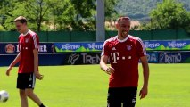 La blague de Frank Ribéry
