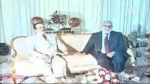 Koning Bahrein in Marokko