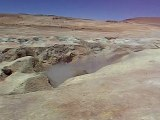 Geysers sur l'Altiplano Bolivien