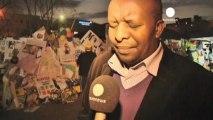 """Hospitalisation de Mandela: """"nous sommes inquiets pour..."""