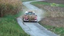 WRC Rallye d'Alsace 2012 - Novikov dans un champ de Maïs !