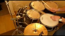 Drum Solo - 'Hickory Salad' - You CAN play solos without cymbals!