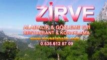 Zirve Alabalık Restaurant - Antalya Konaklama Antalya Günlük Kiralık Ev Kiralık Evler