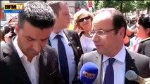 """Hollande dans les Pyrénées: """"tout a été rétabli pour accueillir les touristes"""" - 07/07"""