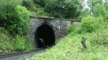Mountain Steam Train, HARZ - Puffing and smoking. June 2013 -1280x720 vid railway journey vedat şafak yamı