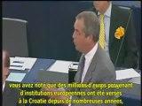 Nigel Farage prévoit une tempête électorale pour les européennes de 2014