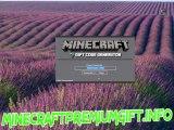 Minecraft Gift Codes for free 2013 Minecraft premium account generator