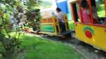 a dennlys parc le 8.07.2013 in petit tour de train avec mon frere et ma soeur