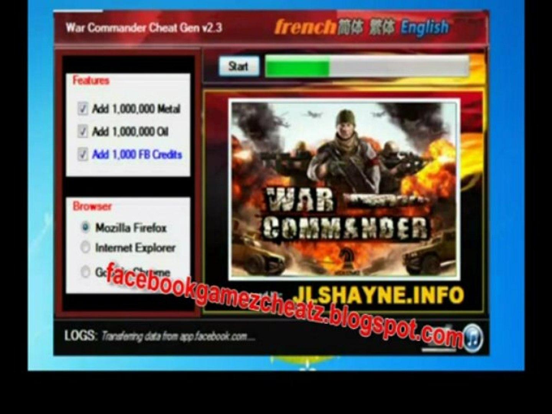 War commander  Hack téléchargement gratuit 2013 - war commander  Descarga gratuita de hackear