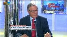 Christian Noyer, gouverneur de la Banque de France dans L'invité d'Hedwige Chevrillon - 8 juillet
