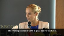 Sabine Lisicki: Wimbledon final experience valuable for future career - video