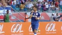 Brasileiro: Ex-Milan-Stars on fire! Pato und Seedorf knipsen