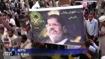 Yémen: manifestation de solidarité avec Mohamed Morsi à Sanaa