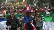 Affaire Snowden : les Boliviens manifestent contre la France et les Etats-Unis