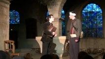 Sur la route avant l'aube, de Pierre Louis, représentations à l'Église de Saint Benigne MAI 2012, Pontarlier 1/4