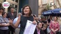 Marie-Arlette Carlotti candidate aux primaires citoyennes - Elections municipales 2014 à Marseille