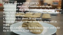 Molasses Crackle Cookies Recipe