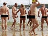 World's first nude ocean swim