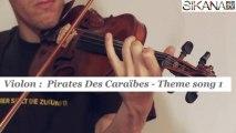 Cours violon : Pirates des Caraïbes theme 1 - HD