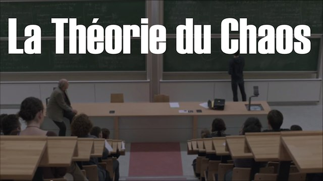 """La Théorie Du Chaos"" ESRA"