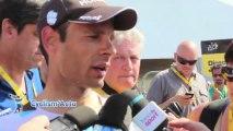 """Tour de France 2013 - Jean-Christophe Peraud : """"Le but, me replacer au général"""""""