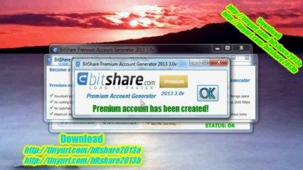 bitshare premium account generator 2011 2.5v
