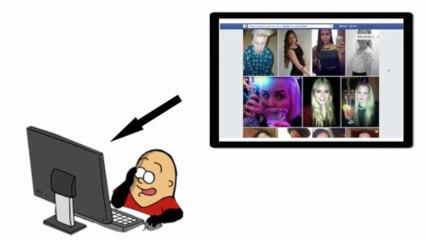 """Facebook : """"Graph Search"""" expliqué en patates - Vidéo Dailymotion"""