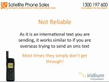 Free Texting Service Available For Iridium 9555 Satellite Phone Users In Australia