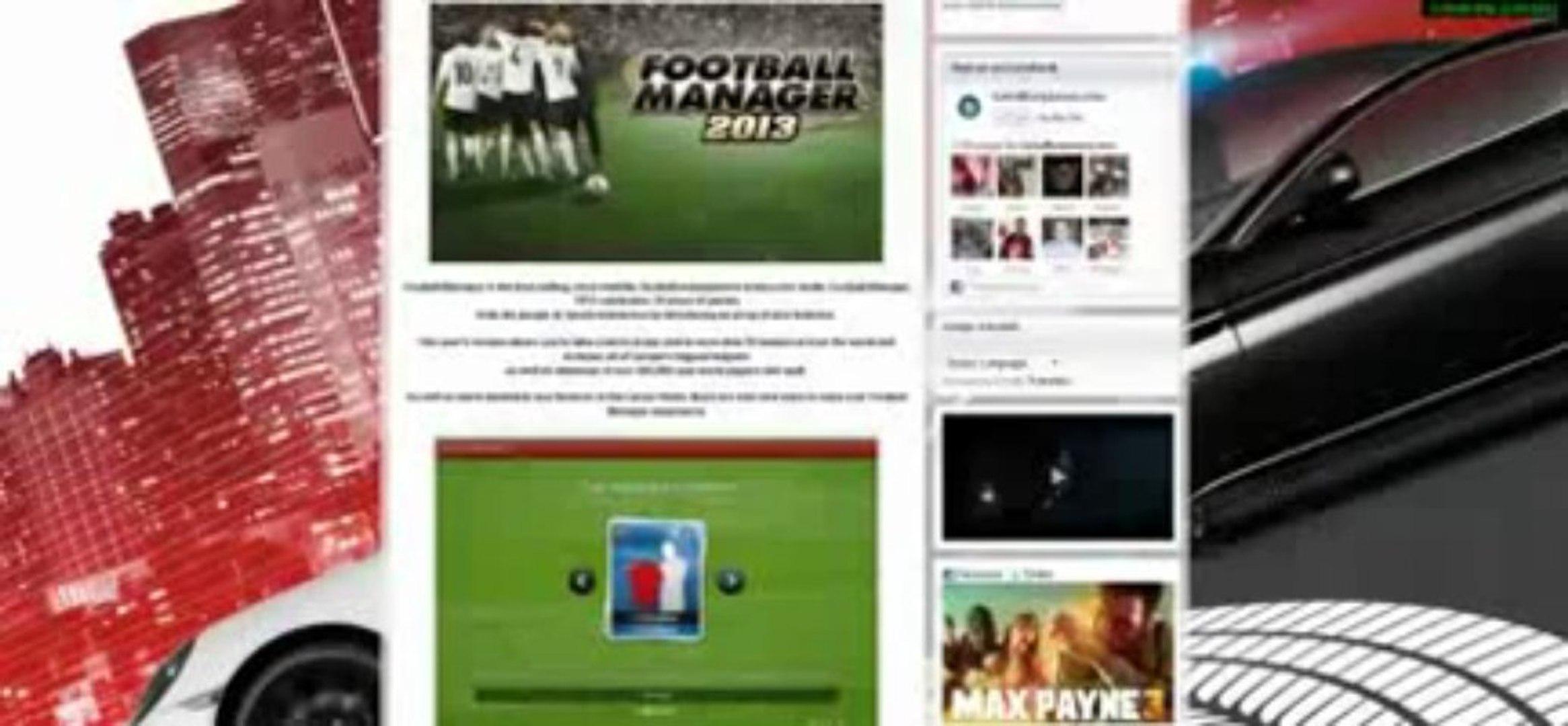 Football manager 2013 FM 2013 cd key generator + STEAM 2013