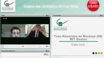 Yves-Alexandre de Montjoye ( MIT, Boston) : On nous encourage à changer le monde !
