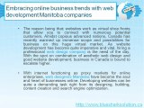 Web design company, web designers Manitoba, ecommerce website design Winnipeg
