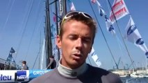 Tour de France à la Voile - Brest : L'interview de Fabien Henry avant les régates