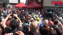 Tour de France dans l'Ouest : le public, la chaleur, le Mont Saint-Michel...