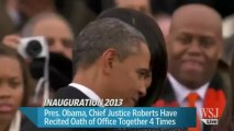 Barack Obama Takes Oath of Office - Barack Obama's Second Inauguration