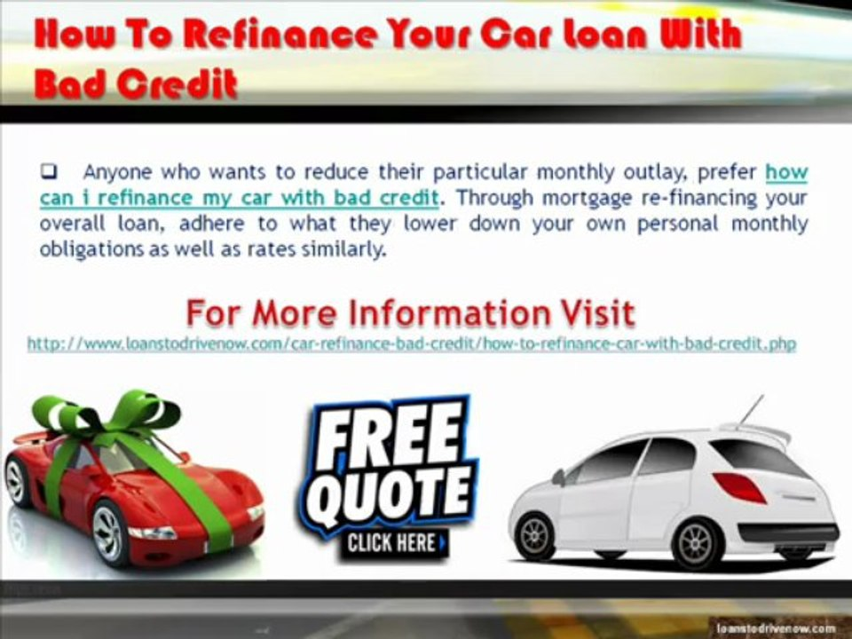 Refinance Car Loan With Bad Credit >> How To Refinance My Car With Bad Credit From Online Lenders