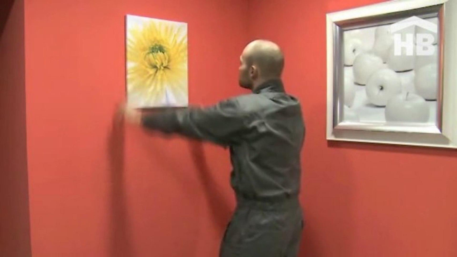 Accrocher Un Tableau Lourd Au Mur comment fixer des objets au mur sans percer ?