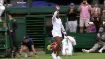 Sloane Stephens vs Jamie Hampton 2013 Wimbledon Highlights