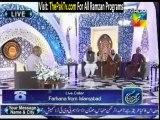 Rehmat-e-Ramzan By Hum TV - 12th July 2013 (Sehar) - Part 3