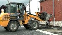 Réunion de chantier rue Salvador Allende