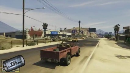 Grand Theft Auto 5 Trailer and R4 Cartridge made to pay Nintendo