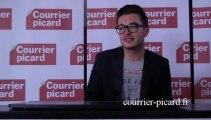Olympe interprète Born to die au Courrier picard