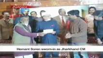 Hemant Soren sworn-in as Jharkhand CM