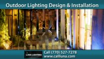 Atlanta Landscaping Lighting in Buckhead - Call (770) 527-7278