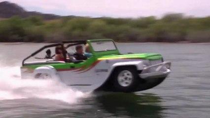 La Panther est la voiture amphibie la plus rapide au monde.