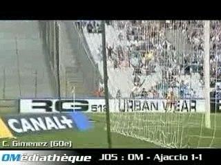 L1, Saison 05/06: OM - Ajaccio