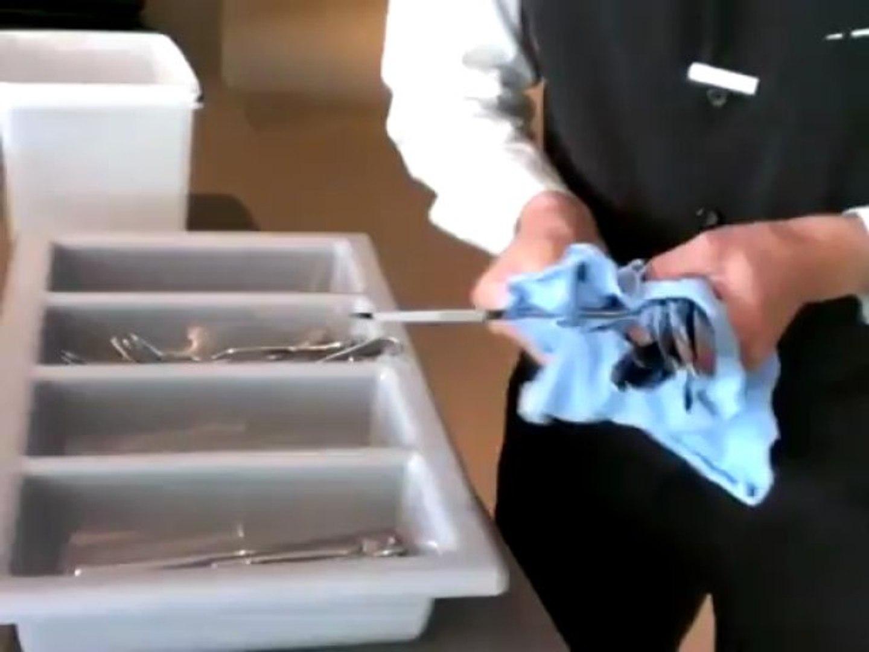 Gut gemocht Besteck polieren - video dailymotion MR93