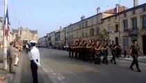 Défilé du 14 juillet à Bar-le-Duc 1 er régiment chasseurs