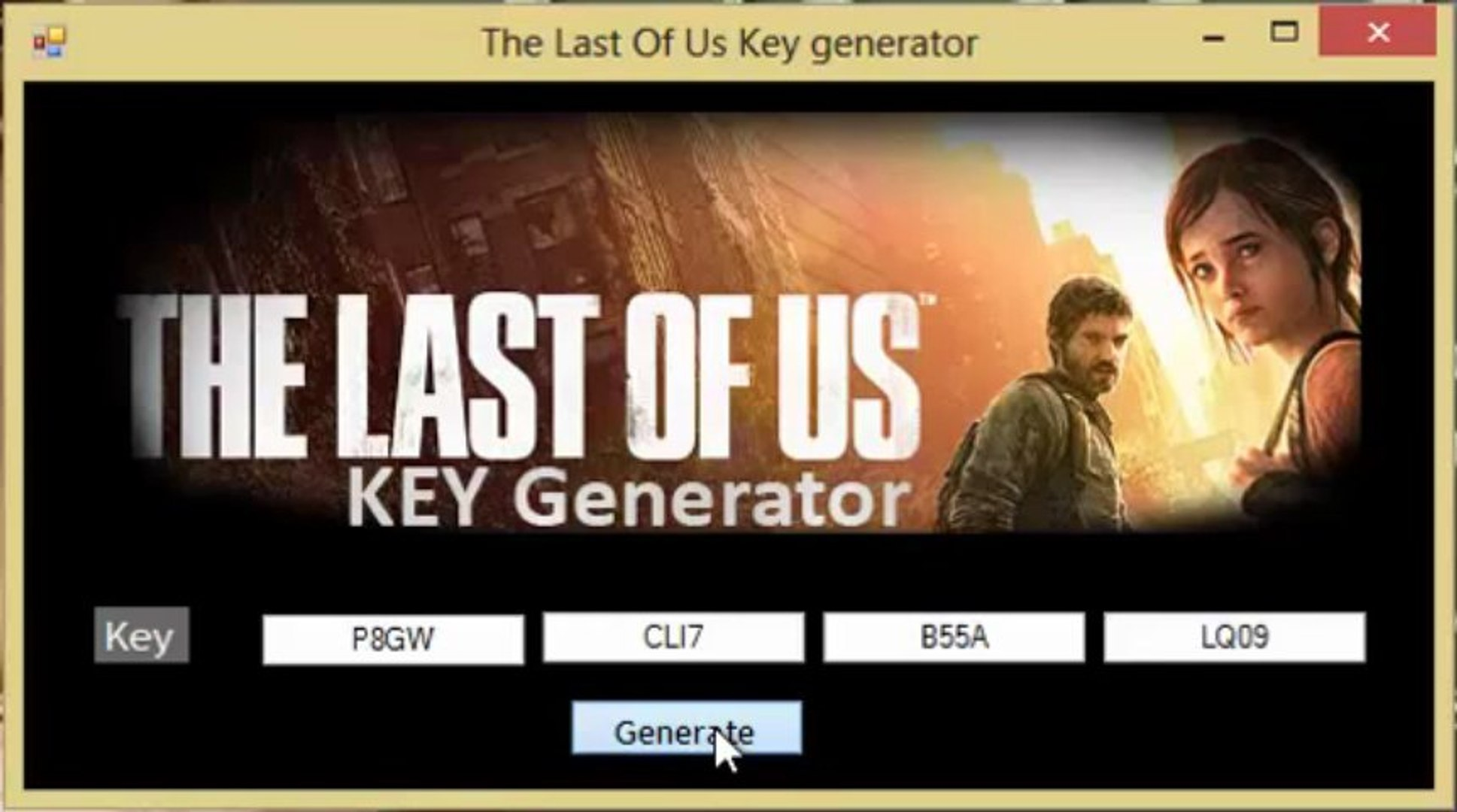 License Key For The Last Of Us