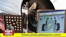 pneus pas chers - Contrôle du parallélisme compris dans le prix chez Pneu à Bas Prix