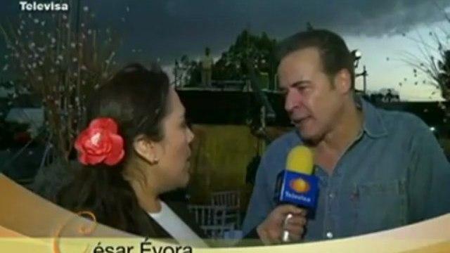 Cesar Evora entrevista El Triunfo del amor 2011